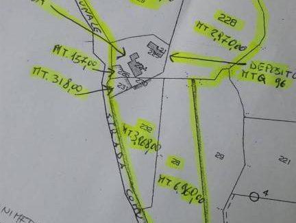 mappale Satriano di lucania